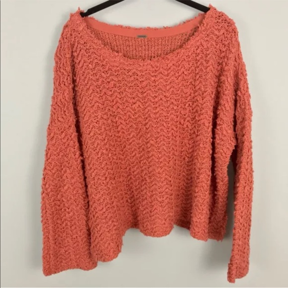 1804b34304de9 Free People Sweaters - Free People Sweater Medium Chunky Knit Boat Neck